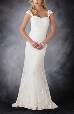 Straps Lace A-line Sweep Train Wedding Dress. Style Code: 08885. (U$246). Get it here: http://www.outerdress.com/straps-lace-a-line-sweep-train-wedding-dress-pd-08885-13.html. Official web page: www.outerdress.com #weddingdresses #weddinggowns #outerdress #alineweddingdresses wedding dressses, sweep train, ball gowns, alin sweep, lace alin, dresses, dress wedding, dress style, strap lace