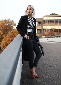 Wenn ein Kleidungsstück zu den absoluten Klassikern gehören muss, dann ist es der schwarze Mantel.
