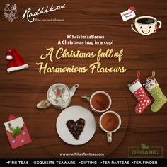 This Christmas, chance upon the delicious and romantic taste of #DarjeelingGreenLeafRose, a spring harvest to perfectly spring up you winter festive mood.