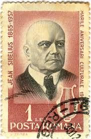 Jean Sibelius from Romania stamp - Google Search