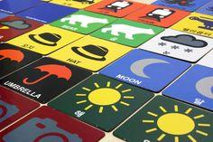 KORABLE BLOCK — KORABLE MEMORY GAME - 48 cards, smart card game for children and adult, bilingual Korean/English
