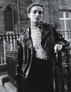 Andreea Diaconu by Alasdair McLellan for W Magazine March 2014