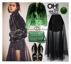 """""""Greenery"""" by ylvaluna ❤ liked on Polyvore featuring Free People, Dolce Vita, FOSSIL, Tiffany & Co. and Elie Saab"""
