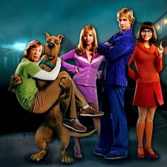 Scooby Doo--I can watch this movie again and again and it never gets old. Laugh at me if you must. Fred Scooby Doo, Daphne From Scooby Doo, Scooby Doo Movie, Classic Cartoons, Cool Cartoons, Scooby Doo Diy Costume, Cartoon Live, Team Costumes, Halloween Costumes