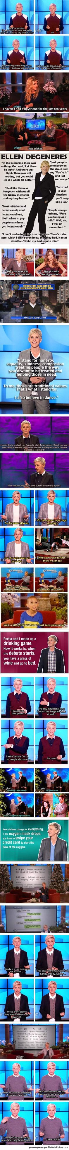 The Quick Wittiness Of Ellen
