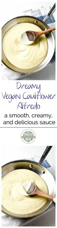 Dreamy Vegan Cauliflower Alfredo | The Endless Meal