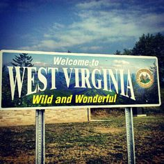 Love driving to WVU and seeing this sign