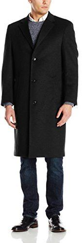 $495, Spencer Cashmere Blend Top Coat by Hart Schaffner Marx. Sold by Amazon.com. Click for more info: http://lookastic.com/men/shop_items/168808/redirect