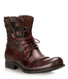 POR - BrownsShoes Bike Boots, Combat Boots, Men Boots, Brown Shoe, Brown Boots, Gents Boot, Fashion Boots, Mens Fashion, Best Shoes For Men