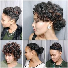 @_simplystasia Happy Christmas Eve! Need some last-minute holiday hair inspiration? Here are some styles I've done that could work for ya! Most of these styles were done on old twist/braid outs. #holidayhairstyle #naturalupdo