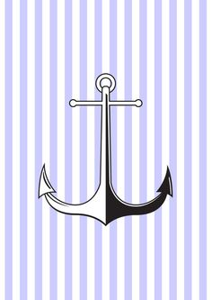 Sailors Anchor Art Print