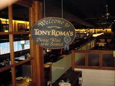 Amerikaans restaurant in het buitenland: Tony Roma's – Madrid, Spanje