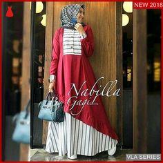 Allsize fit to L. Batik Fashion, Abaya Fashion, Women's Fashion Dresses, Dress Outfits, Muslim Long Dress, Muslim Gown, Muslim Women Fashion, Abaya Designs, Batik Dress