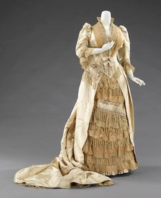 Charles-Frederick Worth, Court Presentation Dress, ca. 1885, The Metropolitan Museum of Art, New York