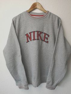Nike Vintage Sweater, Sweatshirt / 54 Jumper - Original Sweater from . herren, Nike Vintage Sweater, Sweatshirt / 54 Jumper - Original Sweater from . Nike Vintage, Nike Pullover, Cute Lazy Outfits, Trendy Outfits, Casual Nike Outfits, Vintage Nike Sweatshirt, Sweatshirt Outfit, Sweatshirts Vintage, Crew Neck Sweatshirt