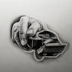 Believe , achieve Barber Poster, Barber Logo, Barber Tattoo, Tony Barber, Barber Haircuts, Barber Shop Decor, Barbershop Design, Braid Designs, Dark Tattoo
