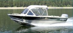New 2012 Hewescraft Pro V 200 HT Multi-Species Fishing Boat - Silver/Green Color