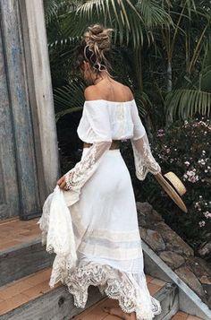 White lace boheme /