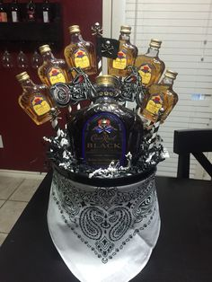 Outlaw liquor bouquet made by me!!