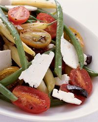 Green and Yellow Bean Salad with Ricotta Salata Recipe on Food  Wine