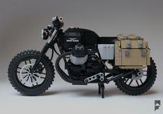 Moto guzzi v7 scrambler lego