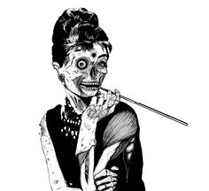 Zombie at Tiffany's would be awesome tat idea, just dont know if i could pull it off