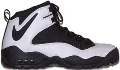 Nike Air Darwin, I loved the backwards Swoosh around the back of the heel. Dennis Rodman basically made these famous. Nike Basketball Shoes, Nike Shoes, Sneakers Nike, Dennis Rodman Shoes, Jordan Retro 11 Black, Moda Retro, Popular Sneakers, Sneaker Stores, Classic Sneakers