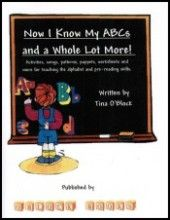 Now I Know My ABCs & a Whole Lot More - A complete alphabet curriculum for preschool and kindergarten. Includes 26 letter units and 6 review units with activities, songs, games, puppets, worksheets, picture cards, patterns, and much more.    Everything needed to teach preschool and kindergarten the alphabet in one convenient source: hands-on alphabet activities, letter worksheets, songs, games, puppets and more. Click the picture for a free sample unit and more information.
