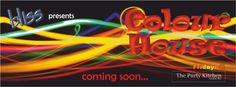 2012.01 Colour House Teaser Banner Teaser, Bliss, Banner, Neon Signs, Posters, Colour, House, Image, Banner Stands