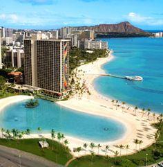 Waikiki Beach, Honolulu, Hawaii