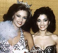 Suzette Charles represented New Jersey in the 1983 Miss America pageant held in Atlantic City, New Jersey. She won her preliminary talent night and finished first runner-up to Vanessa Lynn Williams, who became the first African-American to wear the crown and title of Miss America. When Williams was forced to relinquish the title amid a scandal triggered by Williams' posing for nude photographs published in Penthouse magazine, Charles --who is also African-American -- was crowned in Williams' place and served the remaining seven weeks of Williams' reign.  Charles, who already had many credits in advertising and educational television, has gone on to a career as a singer, entertainer, and television personality.