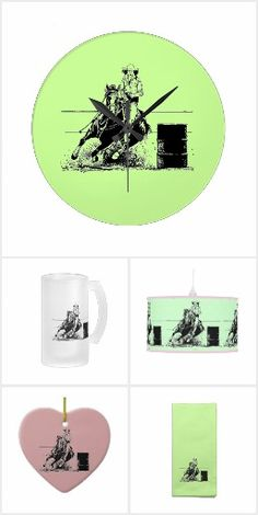 Barrel Racing Horse By Woofnwhinny Home Decor Gifts Horse Barrelracing Home