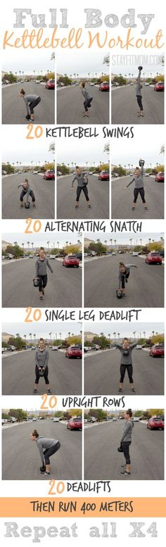 Full body kettlebell workout | Posted By: NewHowToLoseBellyFat.com #KettlebellChallenge