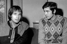 serrat - Buscar con GooglRoberto Carlosy Serrat en el Festival de San Remo de 1968. / Horacio Seguie