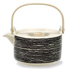 Räsymatto teapot by Maija Louekari, Marimekko