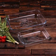 Personalized Casserole Baking Dish 1 Liter, 2 Liter or Set of 2