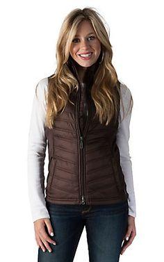 Ariat Lago Coffee Brown Vest | Cavender's