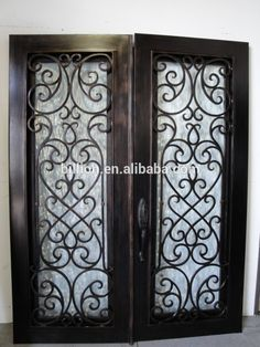 wrought iron window security grilles - Google Search