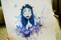 Tim Burton's Corpse Bride by JuliaZombie