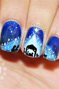 Nativity nails