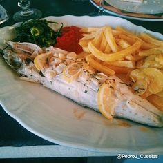 #Lubina #Salvaje al #horno Restaurante Casa Del Nono Isla Plana. #delicious!  #Murcia #Spain  #Summer #gourmet #foodie #foodpic #instafood #Seafood