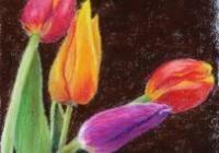 1.9.2 Tulipánfejek első pasztellfestményed 2. rész