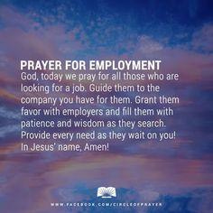 Prayer for new job interview