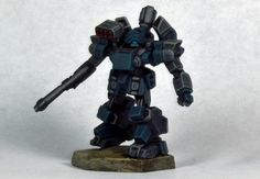 NUCOAL CHASSEUR MKII GUNNER from Heavy Gear Blitz by Dream Pod 9 painted by D1SINFECTING