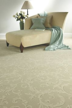 Axminster Carpets - Classical Scroll in Porcelain Parker Knoll, Axminster Carpets, My Dream Home, Ottoman, Sweet Home, New Homes, Couch, York, Sofa