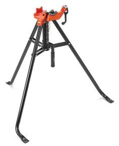Ridgid 16703 Model 425 Portable Tristand Chain Vise, 1/8 - 2-1/2 Inch Capacity #Ridgid