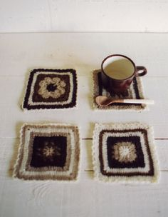 Crochet Coasters - CC