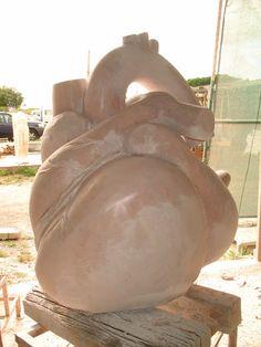 Sculptor | Beatriz Cunha | Escultura: Titan's heart - The process