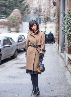 Milan Fashion Week 2013: STREET STYLES IV | An army of beige