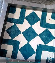 Como hacer #mosaico hidráulico #baldosa artesanal #piso de cemento #nicaragua #azulejos de concreto #handmade #flooring Quilts, Blanket, Blog, Tiles, Tiles, Mosaics, Cement, Flats, How To Make
